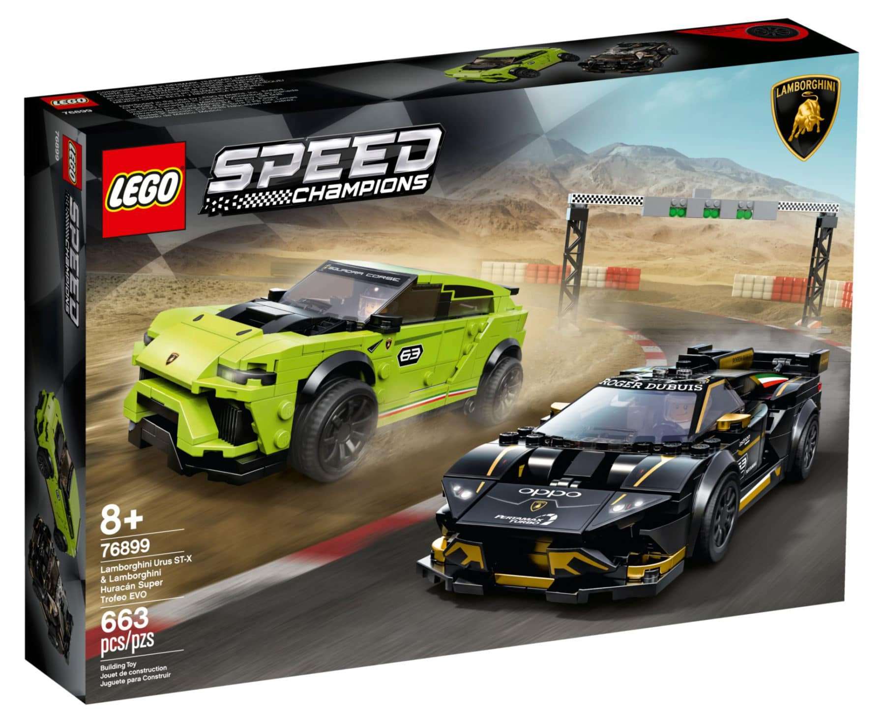 LEGO Speed Champions 75899 Lamborghini Set