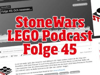 StoneWars LEGO Podcast Folge 45