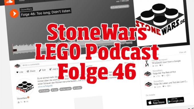 StoneWars LEGO News Podcast Folge 46