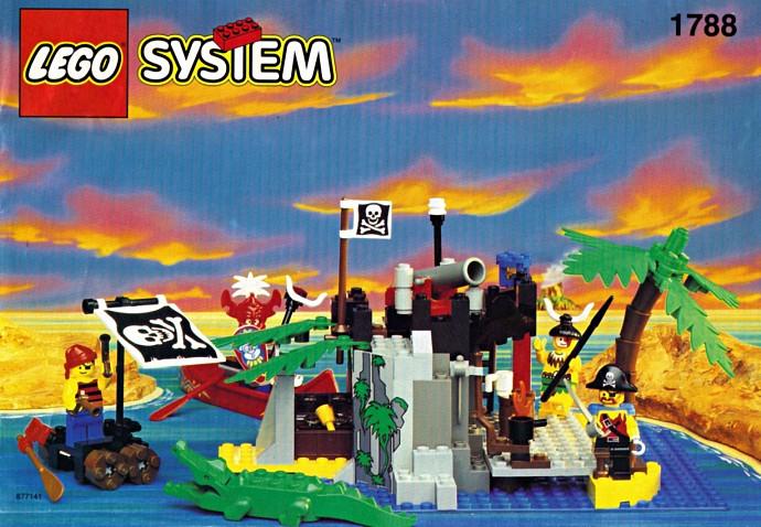 Die Bauanleitung des Sets 1788, ©1995 LEGO