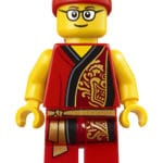 LEGO Chinese New Year 80104 Lion Dance Minifigur