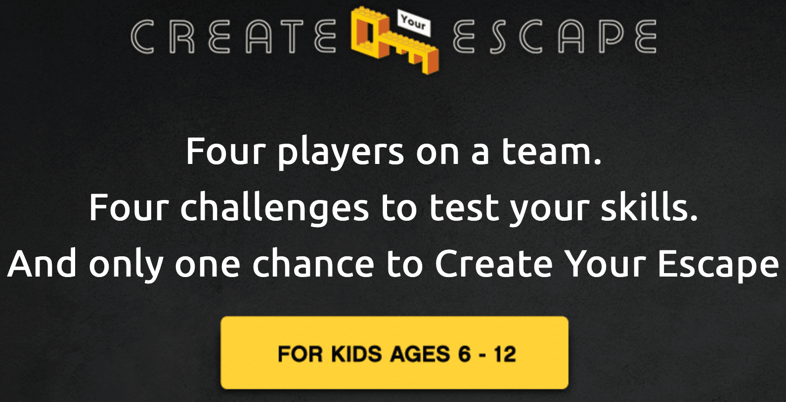 LEGO Create Your Escape