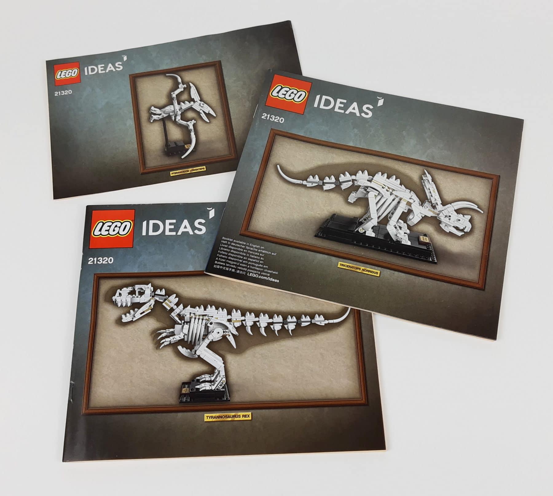 LEGO Ideas 21320 - Dinosaurier Fossilien: Anleitungen