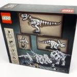 LEGO Ideas 21320 - Dinosaurier Fossilien: Box von hinten