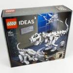 LEGO Ideas 21320 - Dinosaurier Fossilien: Box von vorne