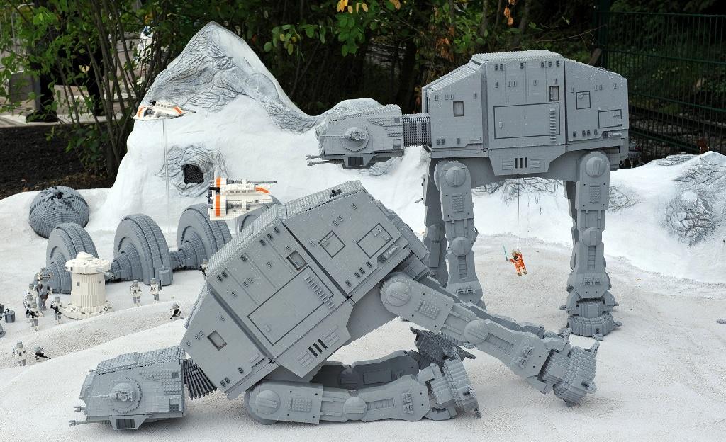 LEGO Star Wars Modellausstellung im LEGOLAND Deutschland