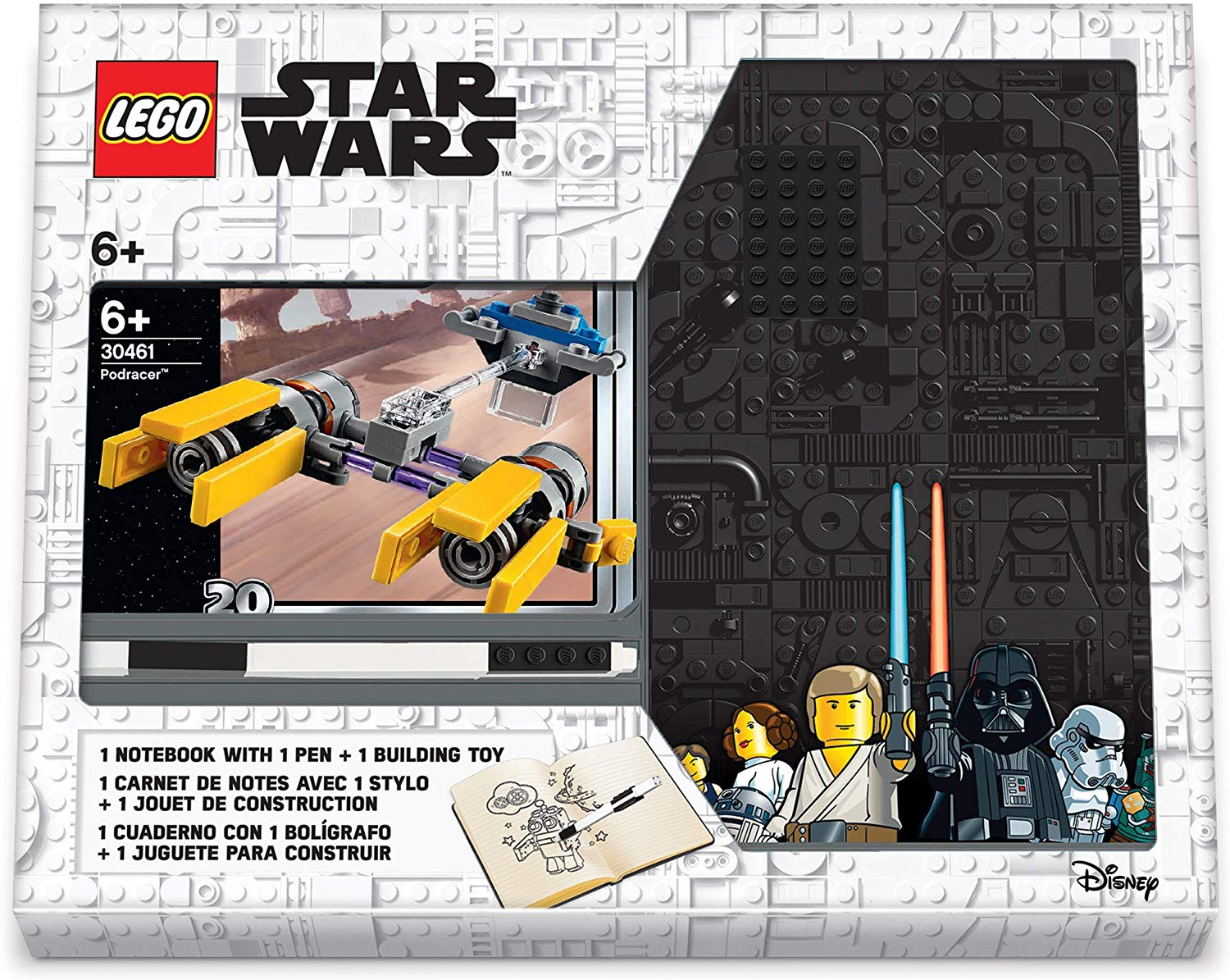LEGO Star Wars Pod Racer Creativity Set