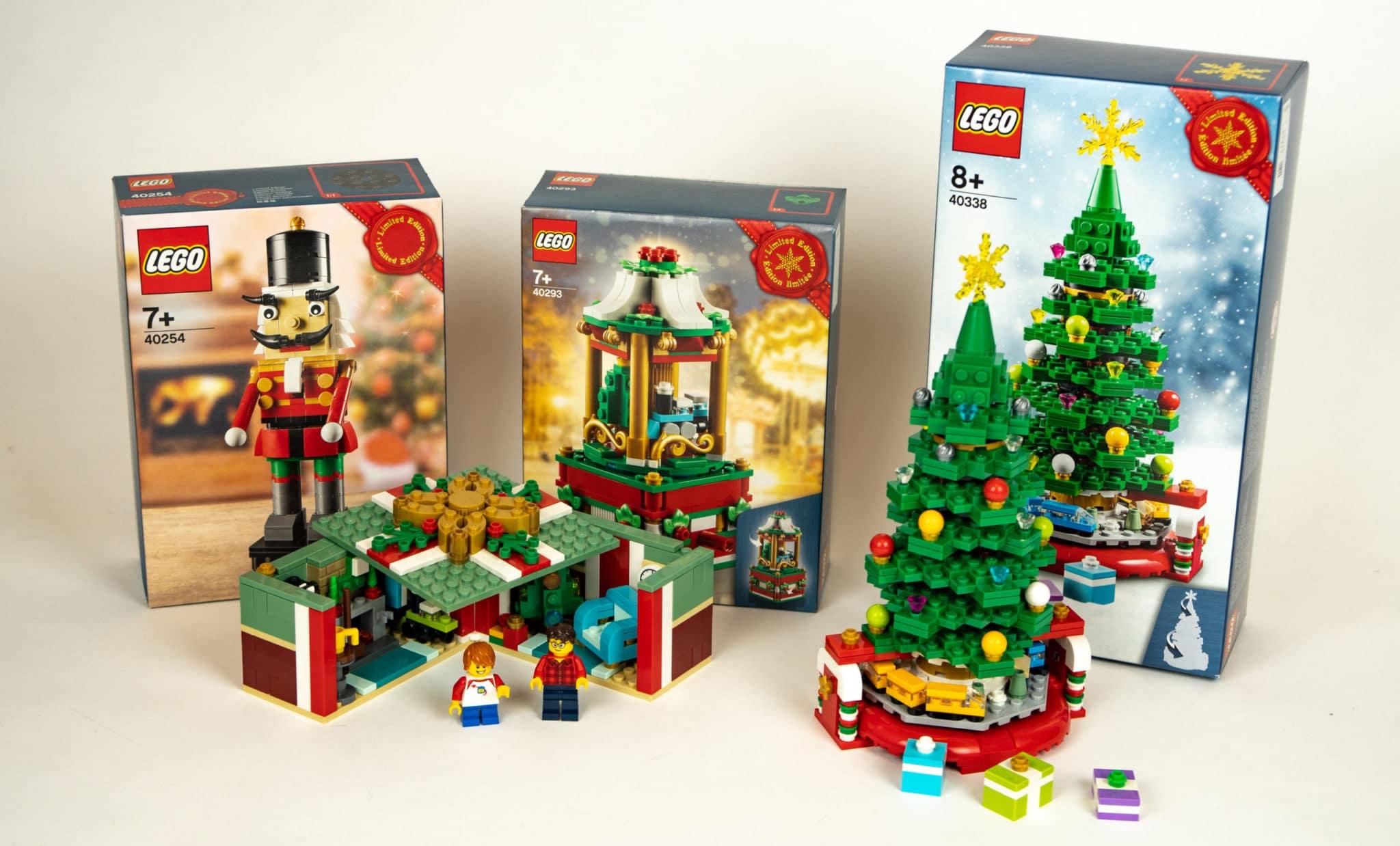 LEGO 40338 Weihanchtsbaum GWP Vergleich