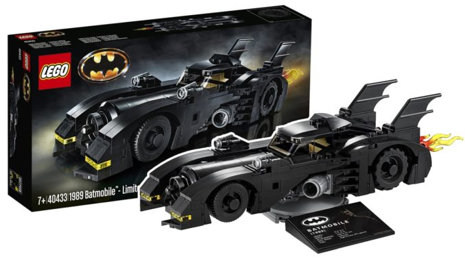 LEGO 40433 Batmobile (1989) Limited Edition