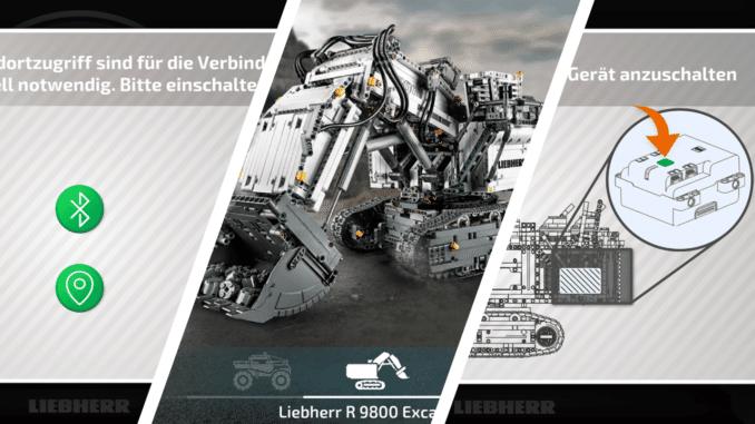 LEGO Technic 42100 App Fehler