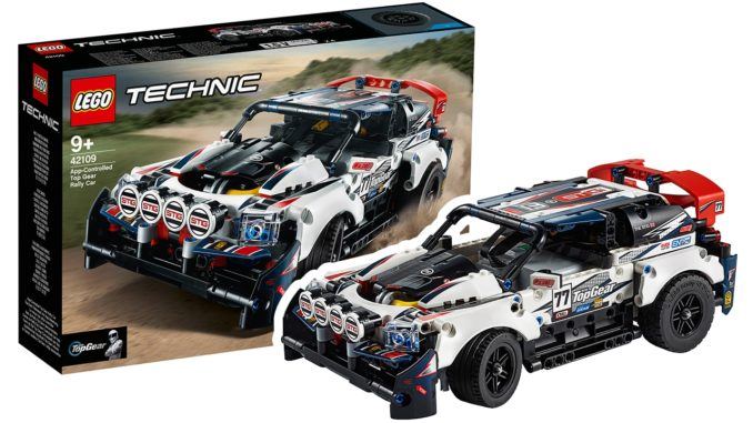 LEGO Technic 42109 Top Gear Rally Car
