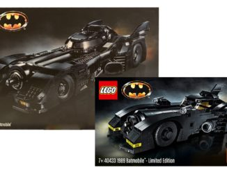 LEGO 76139 und 40433 1989 Batmobile ab Black Friday verfügbar!