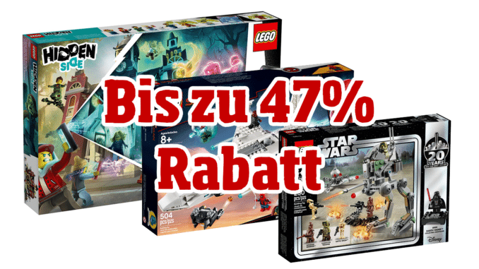 Bis zu 47% Rabatt: LEGO Amazon Bestpreise zum Black Friday