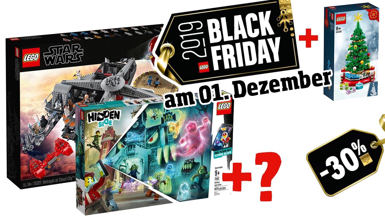 LEGO Black Friday Angebote am 01. Dezember 2019