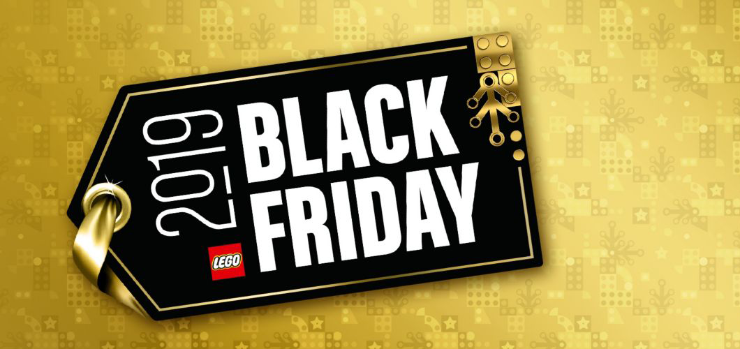 LEGO Black Friday 2019 Banner