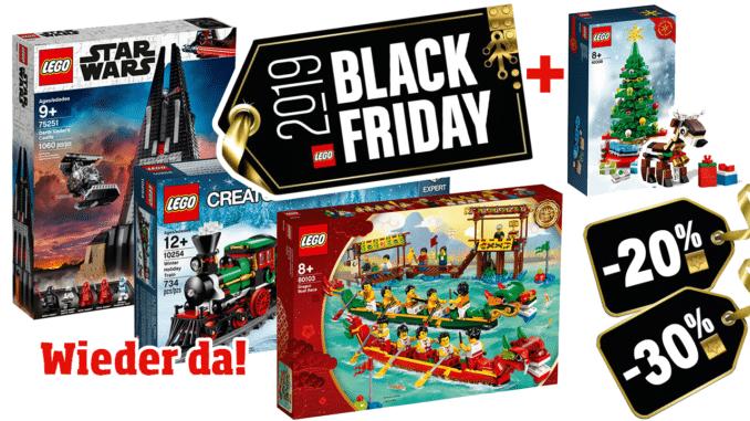LEGO Black Friday 28. November 2019