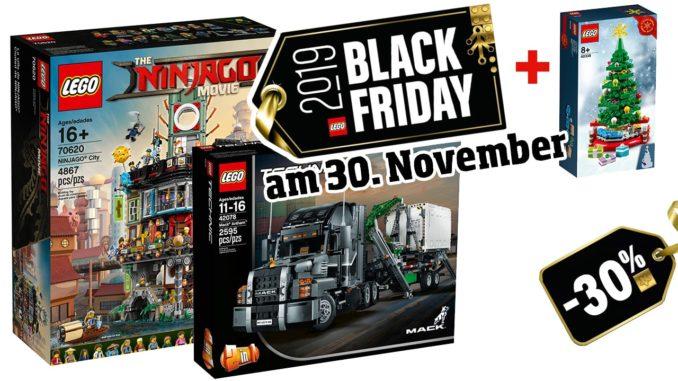 LEGO Black Friday am 30. November
