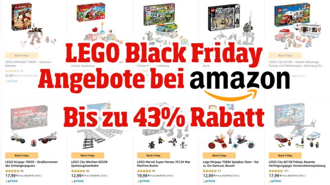 LEGO Black Friday Angebote bei Amazon