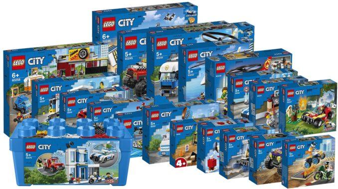 LEGO City 2020 Übersicht