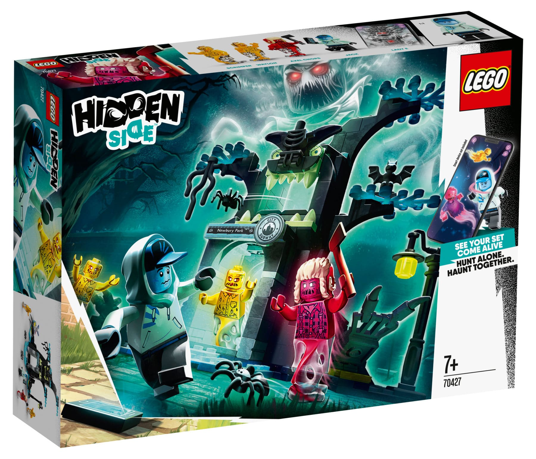 LEGO Hidden Side 70427 Hidden Side Portal Box