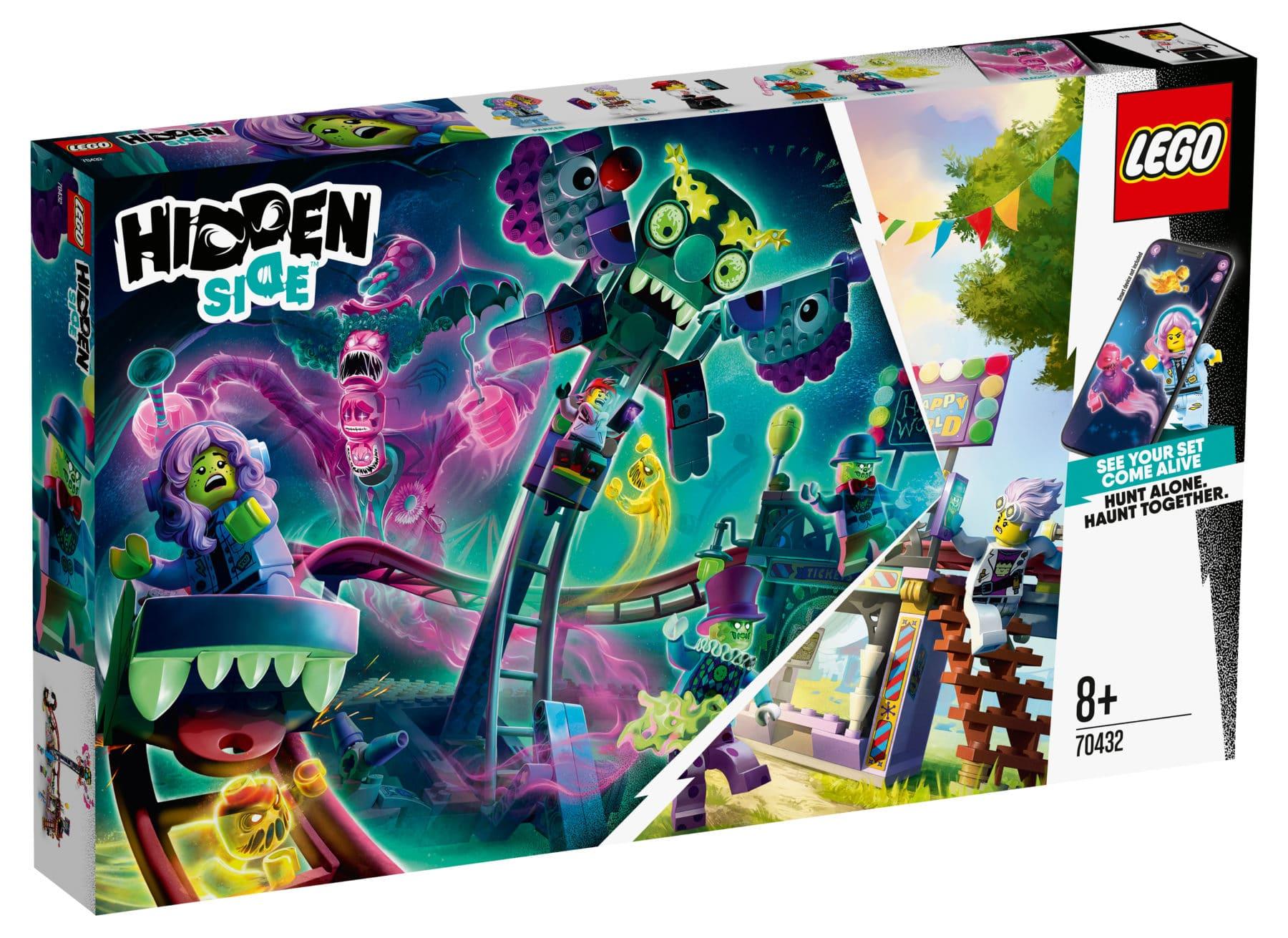 LEGO Hidden Side 70432 Geister-Jahrmarkt Box