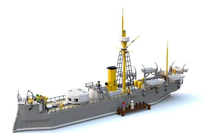 LEGO Ideas Huascar Entwurf