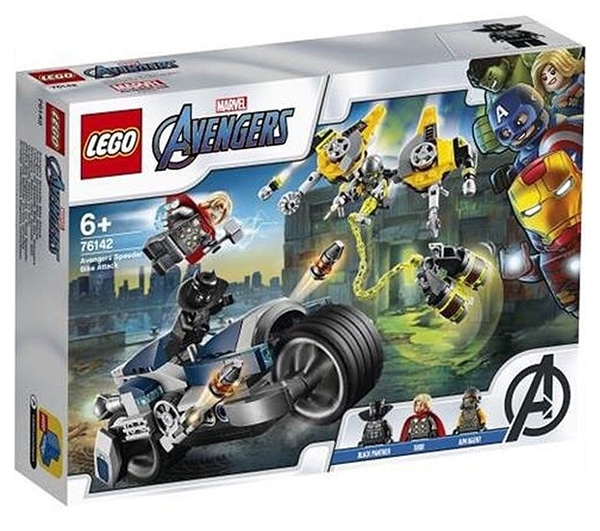 LEGO Marvel 76142 Avengers Speeder Bike Attack