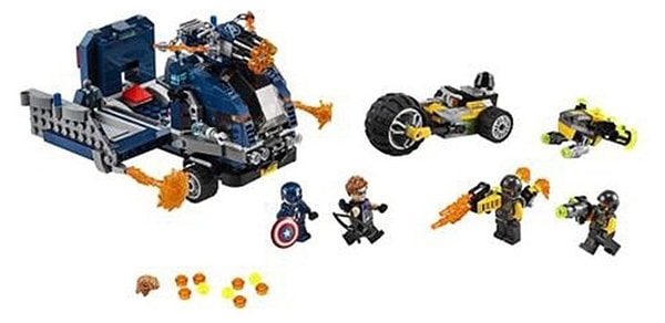 LEGO Marvel 76143 Avengers Truck Take Down