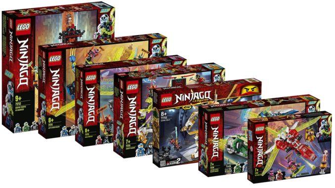 LEGO Ninjago 2020 Neuheiten