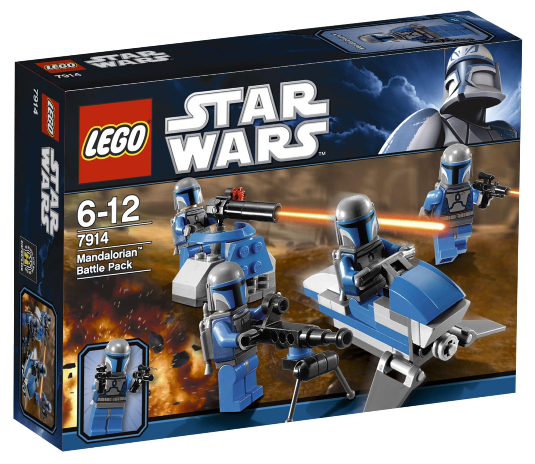 LEGO Star Wars7914 Mandalorian Battle Pack Box