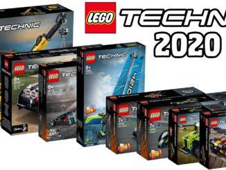 LEGO Technic Januar 2020 Übersicht