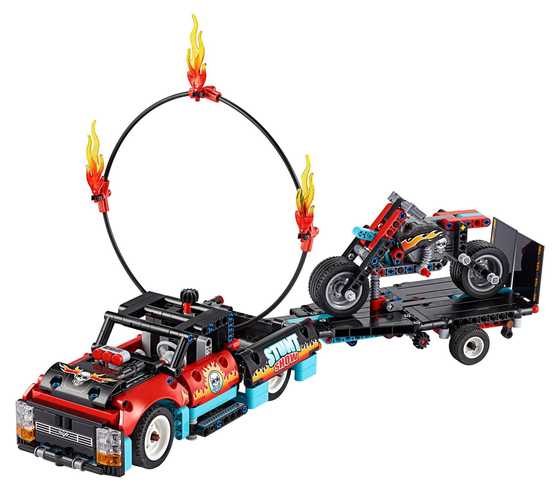 LEGO Technic 42106 Stunt-Show mit Motorrad