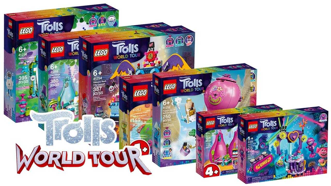 Lego Trolls World Tour Offizielle Bilder Der Im Februar Kommenden