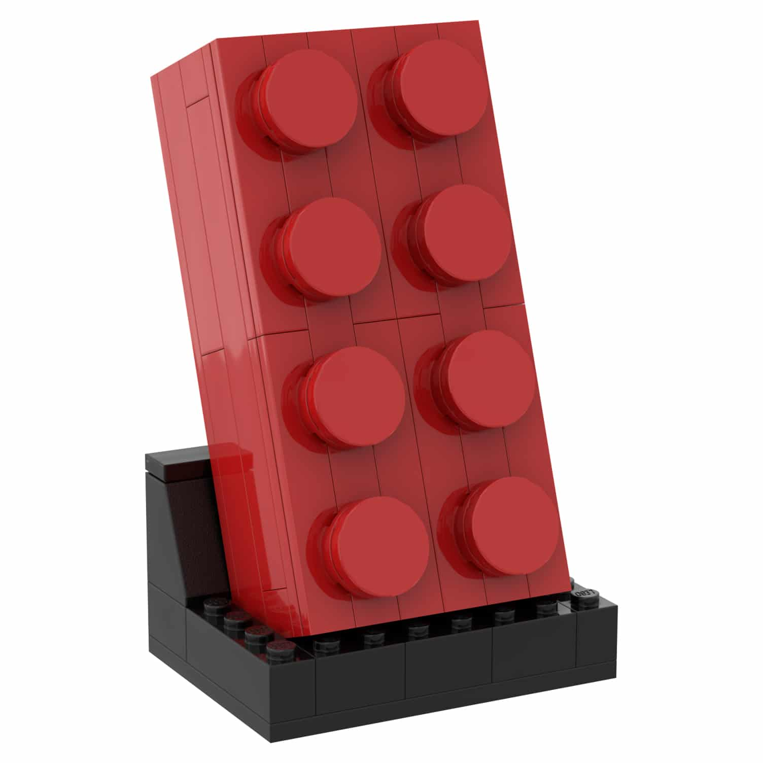 LEGO 5006085 Roter 2x4 Stein Gift with Purchase