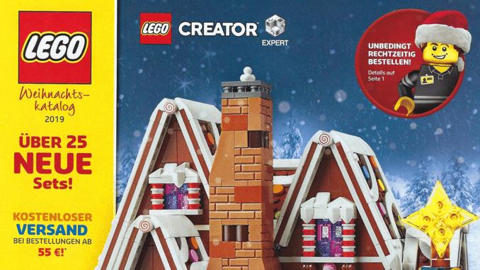 LEGO Weihnachtskatalog 2019