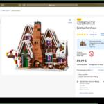 LEGO Store Produktverfügbarkeit