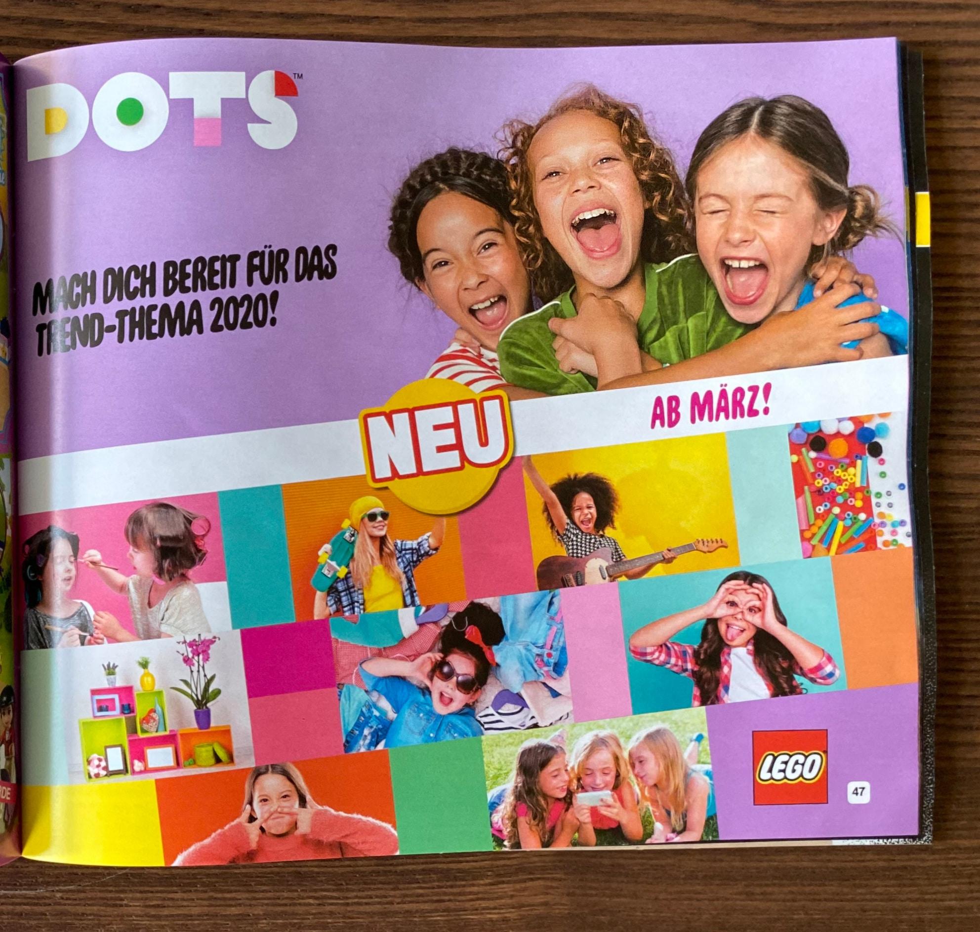 LEGO Dots Schmuck 2020