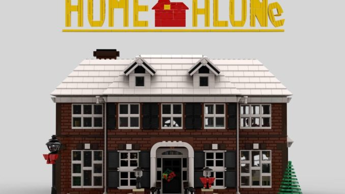 LEGO Ideas Home Alone Entwurf