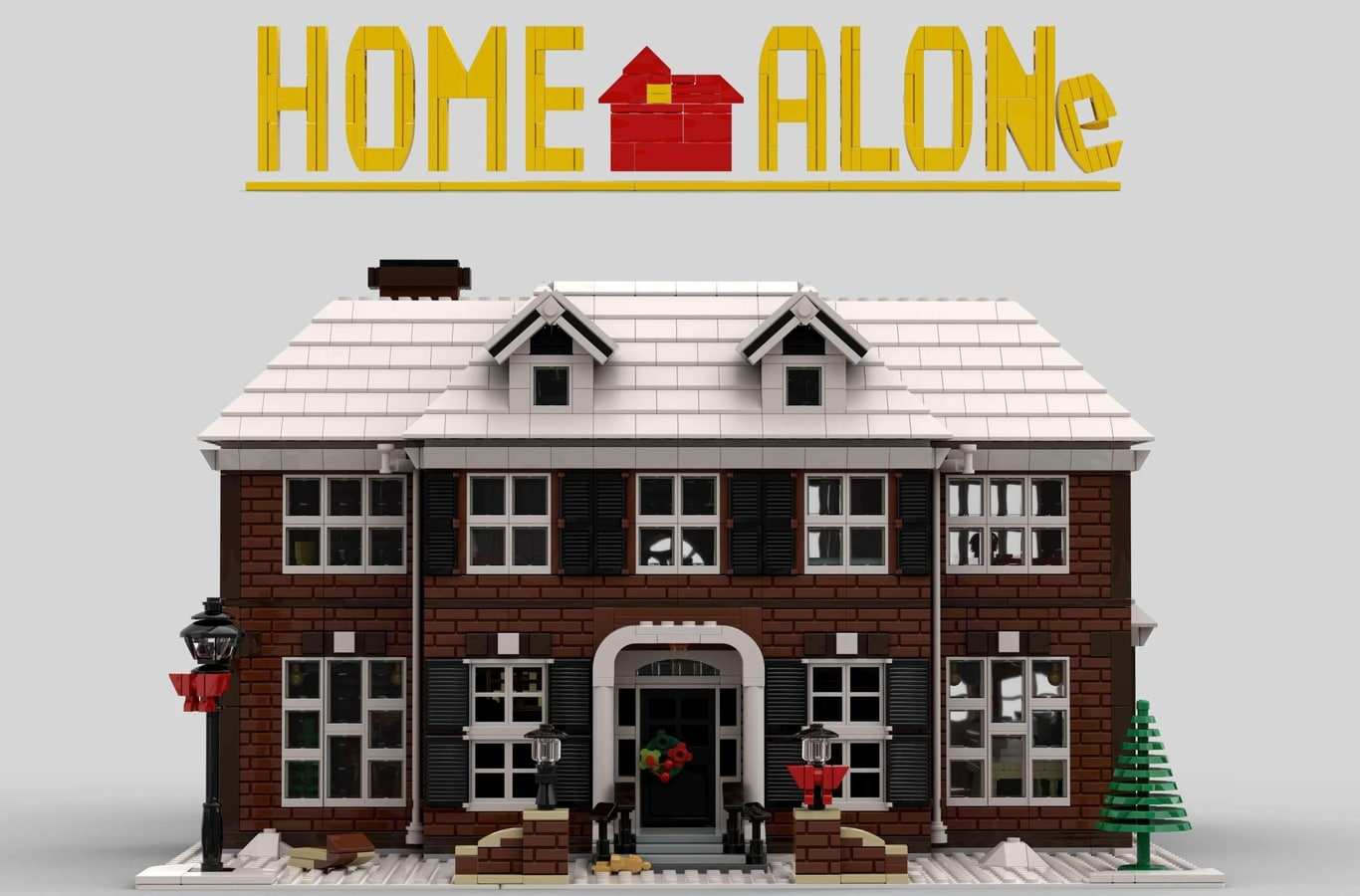 LEGO Ideas Home Alone Entwurf