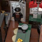LEGO Ideas Home Alone Entwurf Küche mit Falle