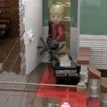 LEGO Ideas Home Alone Entwurf Oberes Treppenhaus