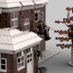 LEGO Ideas Home Alone Entwurf Baumhaus