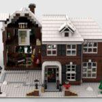 LEGO Ideas Home Alone Entwurf Ansicht links aufgeklappt