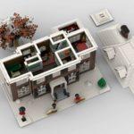 LEGO Ideas Home Alone Entwurf ohne Dächer