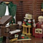 LEGO Ideas Home Alone Entwurf Wohnzimmer 1