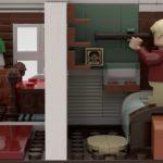 LEGO Ideas Home Alone Entwurf Buzz' Zimmer