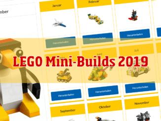 LEGO Minibuilds 2019 Cover