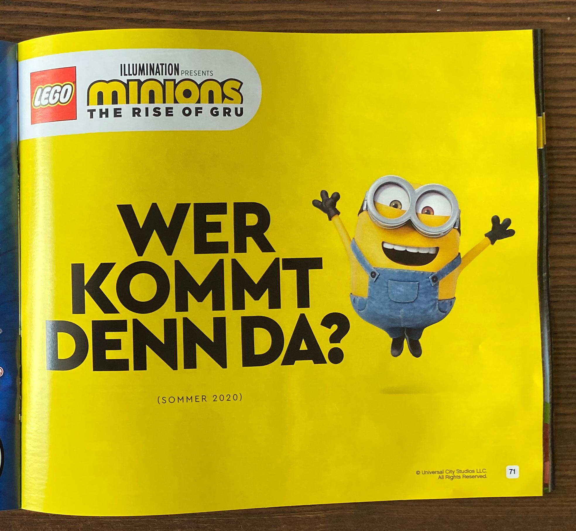 LEGO Minions kommen im Sommer 2020