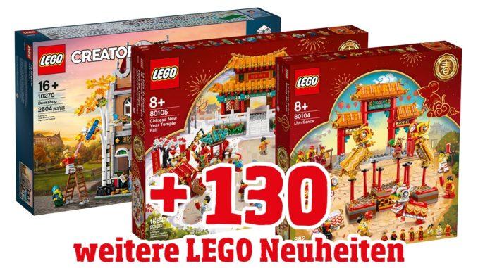 LEGO Neuheiten Januar 2020