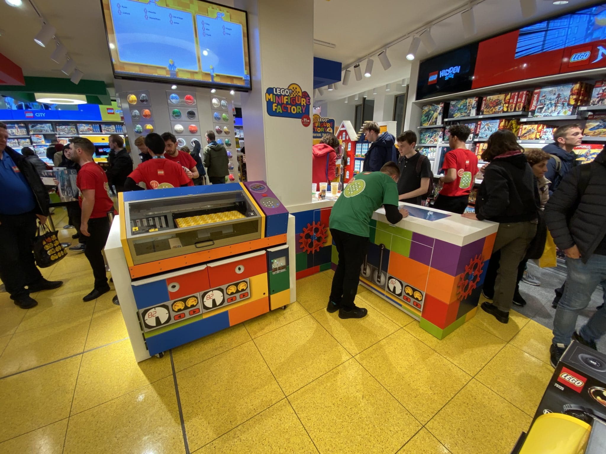LEGO Minifiguren Fabrik in Amsterdam